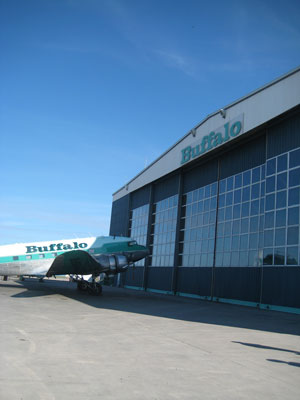No visit to Yellowknife would be complete without a trip out to the Buffalo Airways hangar - home of the Ice Pilots!